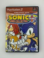 Sonic Mega Collection Plus - Playstation 2 PS2 Game - Complete & Tested
