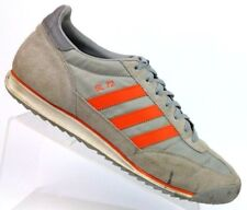 Adidas SL 72 Gray/Orange Trainers Athletic Shoes G02937 2009 Men's Size 11.5