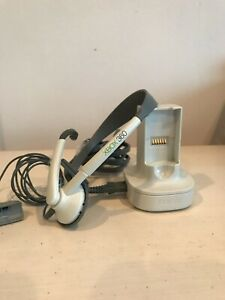 Xbox 360 Quick Charge Kit Dual Charging Station/ Dock. Power Cord And Headset.