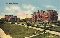 Postcard Boy's Town Nebraska