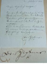 Writer Johann Georg Albrecht Halfpenny (1759-1813): Letter Bern 1801