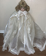 Vintage Zapf Creations Birthday Doll Porcelain & Soft Cloth - West Germany