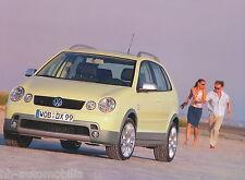 VW Polo Fun Originales Pressefoto 9/03 original press photo 24x17,8 cm Nr 6 2003