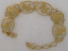 Poodle Jewelry Gold New Design Bracelet by Touchstone Dog Designs