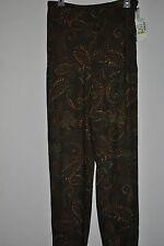 Toto N Ko Womens Paisley Rayon Blend Dress Slacks Pants Size 4 New $78.00