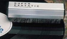 SUPER EXSTATIC Carbon Fibre & Velvet Vinyl Record Cleaning Brush / Pad Cleaner