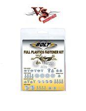 BOLT HONDA FULL PLASTIC FASTENER KIT CR125 CR250 00-07, CRF450 00-04