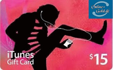 iTunes $15 US Dollar USD Gift Card Prepaid Guthaben Karte Apple iPhone iPod iPad