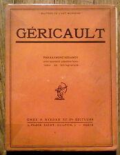 Gericault, Regamey  , 40 planches, Rieder editions 1926