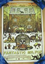 FANTASTIC MR FOX art Poster print Logan Theater Chicago regular David Welker
