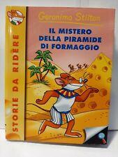 GERONIMO STILTON IL MISTERO DELLA PIRAMIDE DI FORMAGGIO 20 EDIZIONE N.21