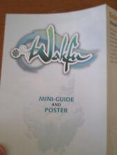 WAKFU fold out mini guide and poster RARE anime