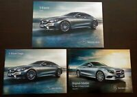 2177 Prospekt 2014 Mercedes S Klasse Coupe 500 65 63 AMG + Zubehör + Preise 2015