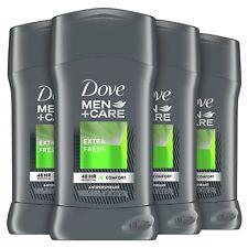 (Pack of 4) Dove Men+Care, 2.7 Ounce Antiperspirant Deodorant Stick, Extra Fresh