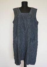Cocon Commerz Grey Silk Tunic/Dress , Size:L/XL?