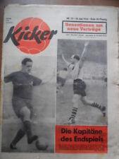 KICKER 25-18.6. 1956 (2) DM-Finale KSC-BVB NOR-BRD 1:3 KSC-Schalke 2:1 Trautmann