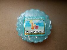 Yankee Candle Usa Rare Bahama Breeze Wax Tart .