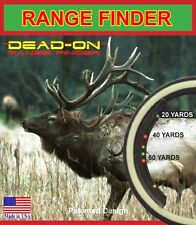 NEW Dead  on Range Finder FREE SHIPPING