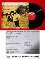 LP Schwarzwaldmusikanten Rolf Schneebiegl (Fono Ring SFGLP 78 305) D
