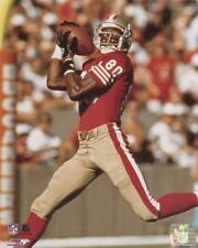 JERRY RICE SAN FRANCISCO 49ERS ACTION  UNSIGNED 8X10 PHOTO