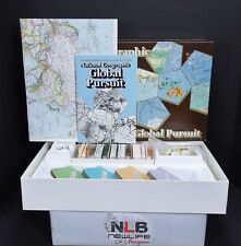 1987 National Geographic Global Pursuit Geography Game