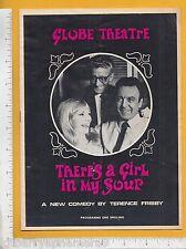7951 There's A Girl In My Soup 1966 Globe Theatre program Jill Melford Tony Saga