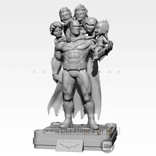 Unpainted 75MM Batman Family Resin Figure Model Kit Garage Kit Unassembled