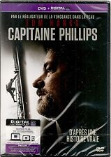 "DVD ""CAPITAINE PHILLIPS"" Tom Hanks     neuf sous blister"