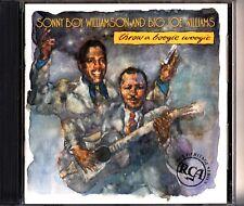 SONNY BOY WILLIAMSON And BIG JOE WILLIAMS - Throw A Boogie Woogie CD BLUES