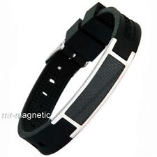 ANION MAGNETIC BIO ENERGY SILICON POWER ARMBAND 4in1 HEALTH BRACELET PAIN RELIEF