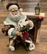 Rare Thomas Kinkade A stocking from St Nicholas Hamilton Collection