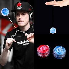 Flashing LED Glow Light Up YOYO Party Colorful Yo-Yo Toys For Kids Boy Gift DQ