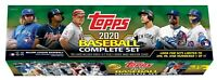 🔥📈2020 Topps Baseball Complete Set Walmart Exclusive Green Factory Sealed!📈🔥