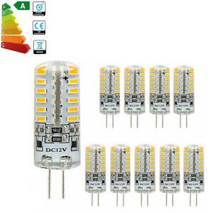 10 Pack of G4 LED COB Ceiling Light Corn Bulbs 48LED 5W Cool White 3014 SMD Lamp