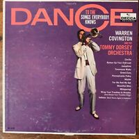 WARREN COVINGTON TOMMY DORSEY DANCE TO THE SONGS EVERYBODY KNOWS VINYL LP VG