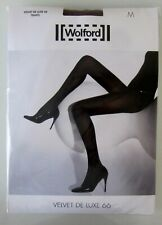 COOL, da NEU & OVP: Wolford VELVET DE LUXE 66 TIGHTS!! Gr. M! Farbe: taupe
