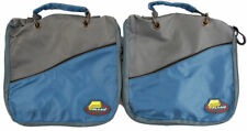 (LOT OF 2) PLANO SOFTSIDER WORM WRAP FISHING TACKLE BAG BLACKWAVE #1098-61