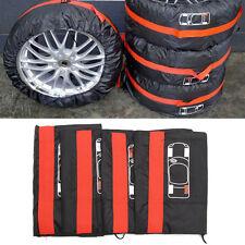 4Pcs-set-Black-Taffeta-Spare-Tyre-Cover-Dust-Dirty-Tire-Storage-Bag