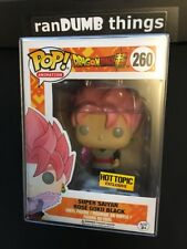 Funko Pop Super Saiyan Rose Goku Black Hot Topic Exclusive + PROTECTOR - from NJ