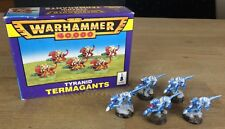 Warhammer 40k Tyranids Termagants x5 Well Painted With Box - Ice Theme