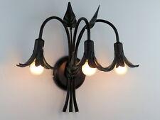 Lampada da parete Applique classico rustico country cucina camera salone 3 luci