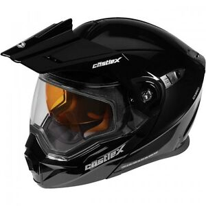 Castle X EXO-CX950 Black Modular Snowmobile Helmet S-3XL