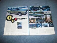 """1968 Plymouth GTX Convertible RestoMod Article """"Go To Xtremes"""""""