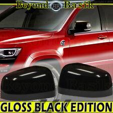 2011-2017 JEEP GRAND CHEROKEE DODGE DURANGO GLOSS BLACK Mirror COVERS Overlay