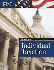 Individual Taxation 2013 (with H&R Block @ Home CD-ROM, CPA Excel 1-Semester