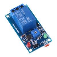 12V 78L05-LDR DC Photoresistor Relay Module Controler Light Sensor Switch M/