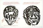 Raymond Pettibon: Untitled (My Little Drummer Boy), 2000. Signed, Numbered Print