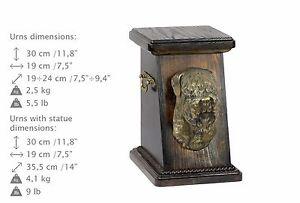 Russische Schwarze Terrier, Urne, Kalte Bronze, ArtDog, DE, Type 3