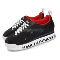 Puma Select x Karl Lagerfeld Roma Amor Black White Red Women Shoes 370056-01