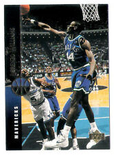 Lorenzo Williams 1994 Upper Deck Dallas Mavericks insert Basketball Card no.73